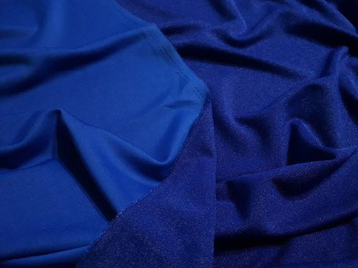 Дайвинг креп металик цвет синий эл