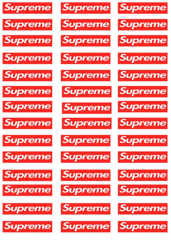 Сублимация supreme мини