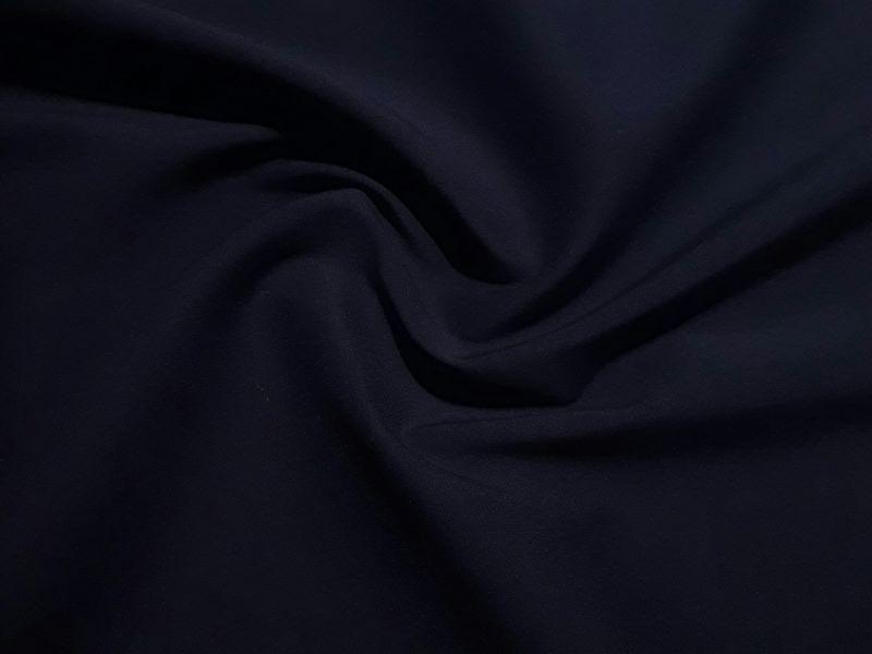 Коттон спандекс рубашка цвет темно-синий