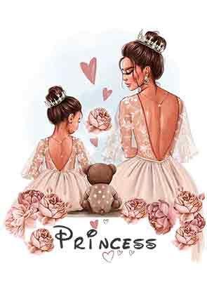 Сублимации дочка принцесса