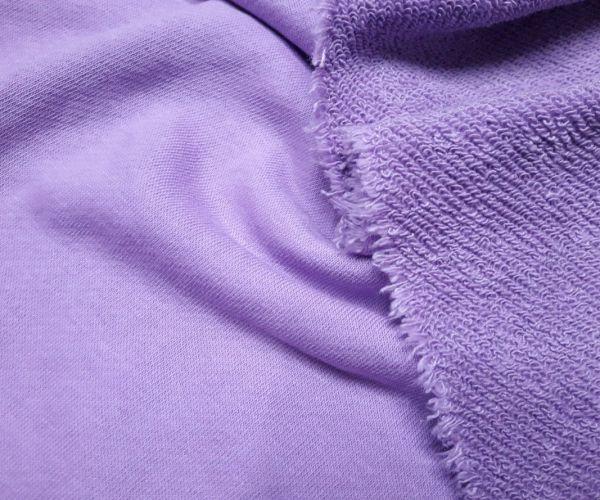 Тринитка хлопок петля цвет лиловый