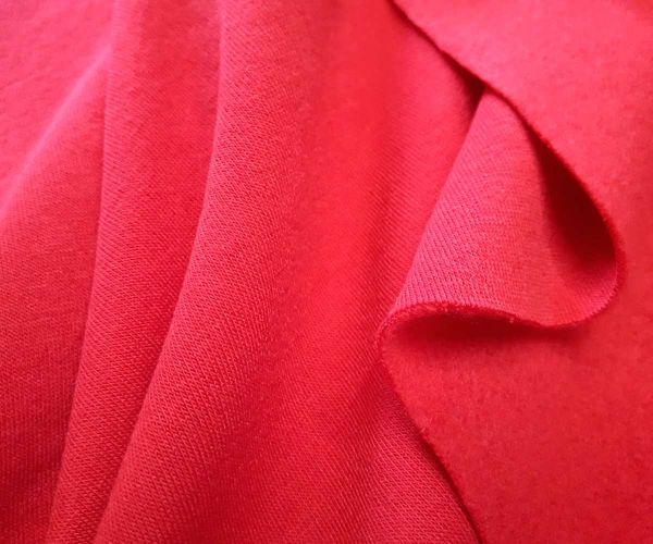 Трехнитка на флисе цвет красный
