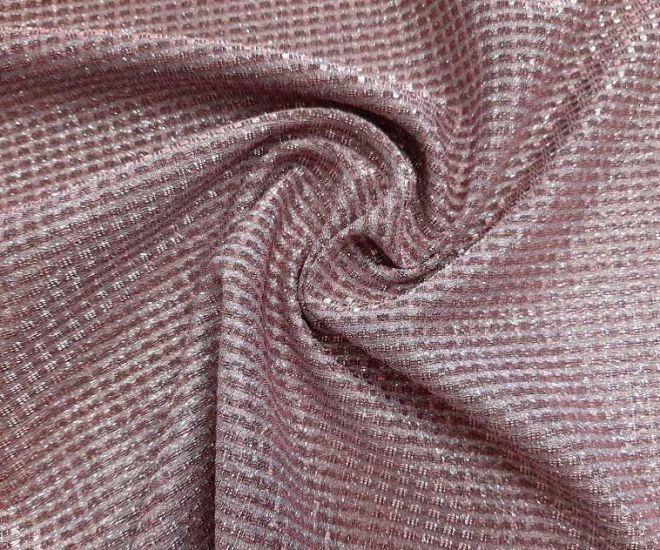 Трикотаж люрекс глитер цвет розовый