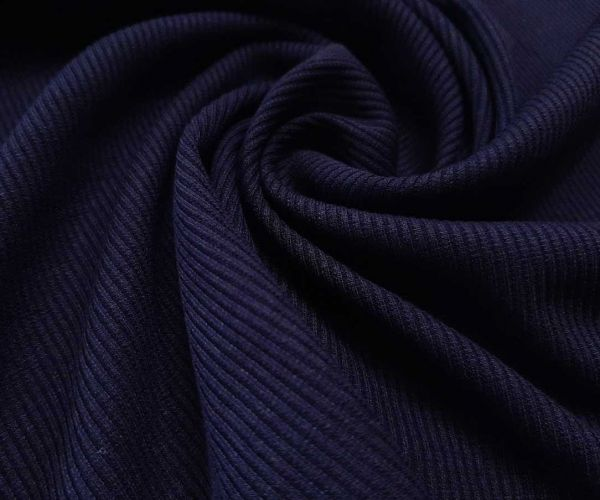 Трикотаж резинка цвет тёмно синий