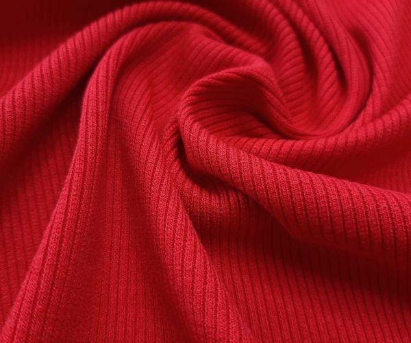 Трикотаж резинка цвет красный