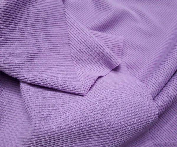 Трикотаж резинка цвет лиловый