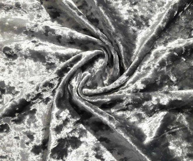 Велюр мраморный серый (стальной)