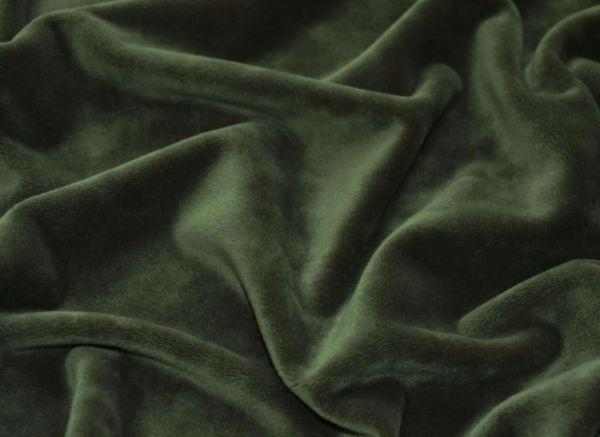 Велюр плюшевый цвет хаки