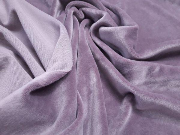 Велюр плюшевый цвет фрезовый