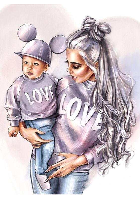 Сублимация мама love