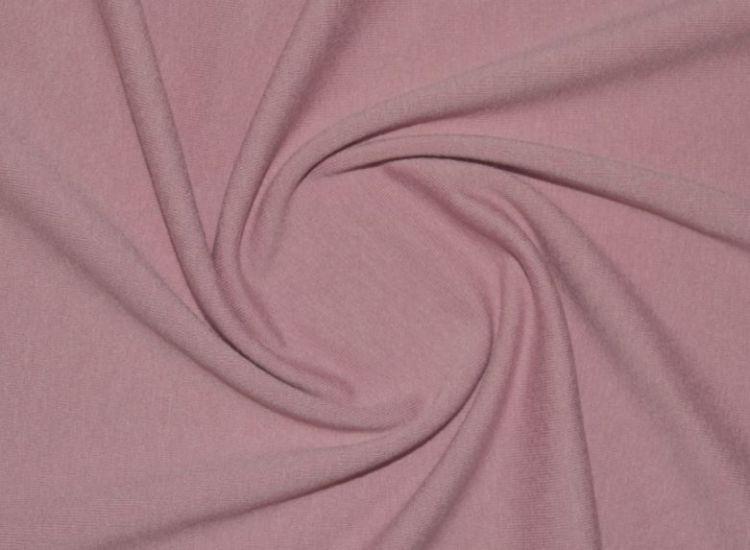 Трикотаж вискозный цвет пыльная роза