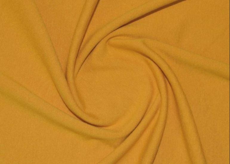 Трикотаж вискозный цвет горчица