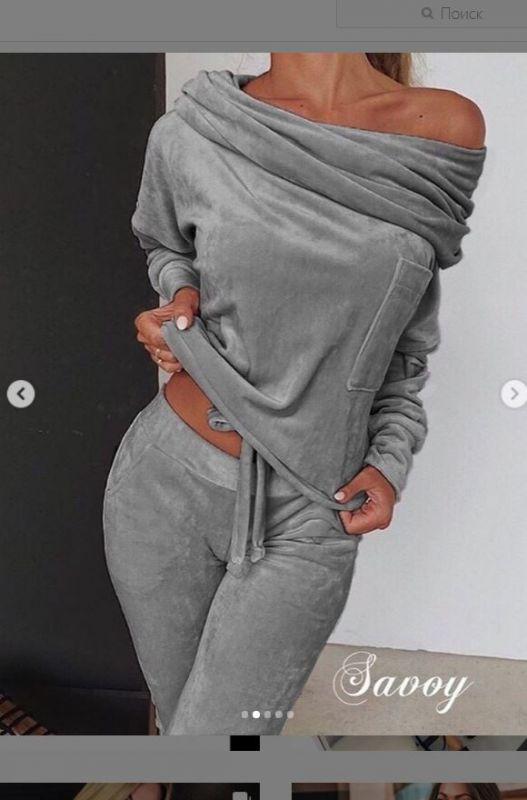 Велюр плюшевый цвет серый стальной